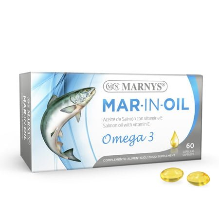 MN401 Mar-Inoil Salmon Oil 60 capsules