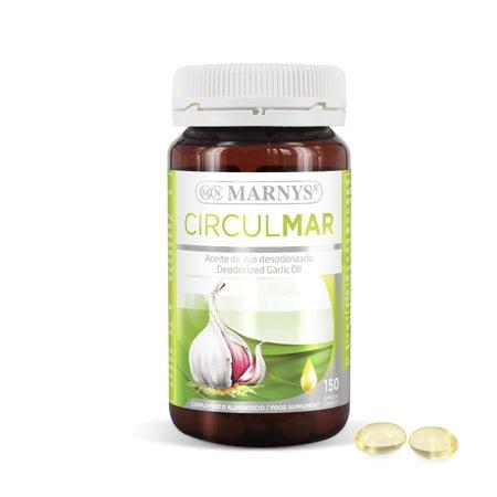 MN409 - Circulmar huile d'ail capsules