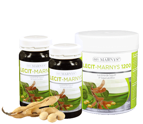 MN410-G - Lecit-Marnys Soy Lecithin capsules
