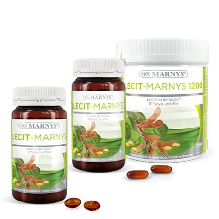 MN410-G - Lecit-Marnys Lécithine de Soja capsules