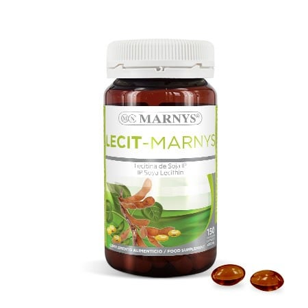 MN410 - Lecit-Marnys 150 capsules x 500 mg