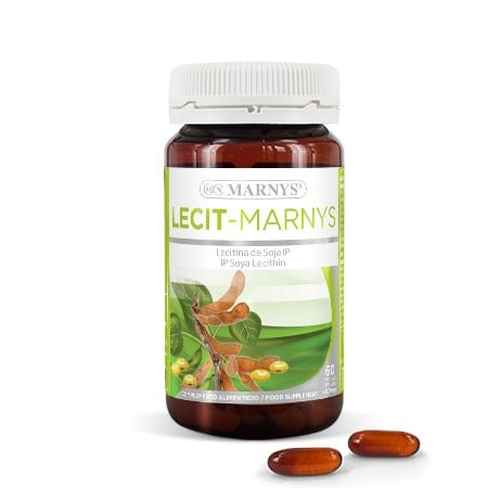 MN411 - Lecit-Marnys 60 capsules X 1200 mg