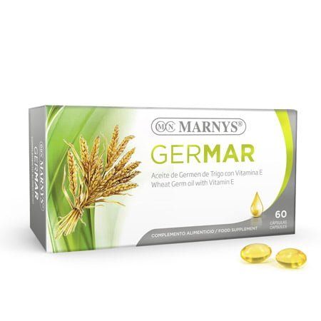 MN414 - Germar Wheat Germ Oil 60 Capsules