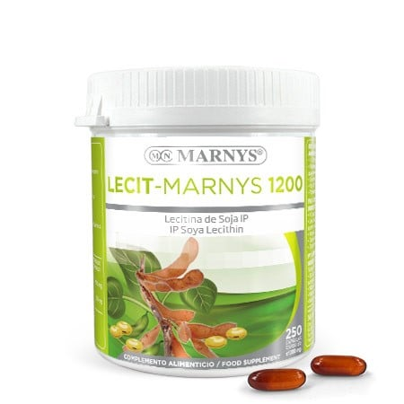MN416 - Lecit-Marnys 250 capsules X 1200 mg