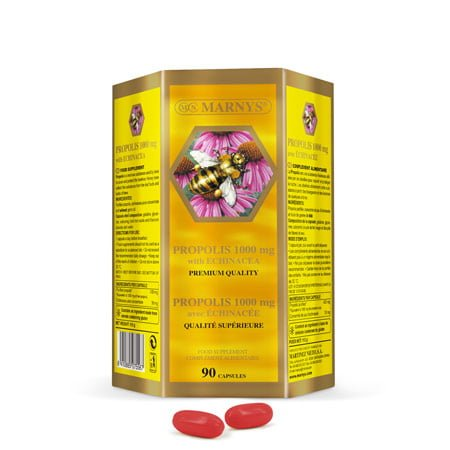 MN451 Propolis 1000 mg with Echinacea 90 Capsules