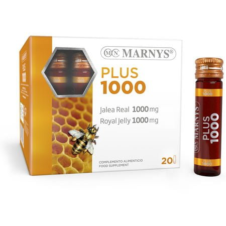 MNV111 - Royal Jelly Plus 1000 mg vials