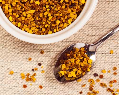 polen de abeja granulado