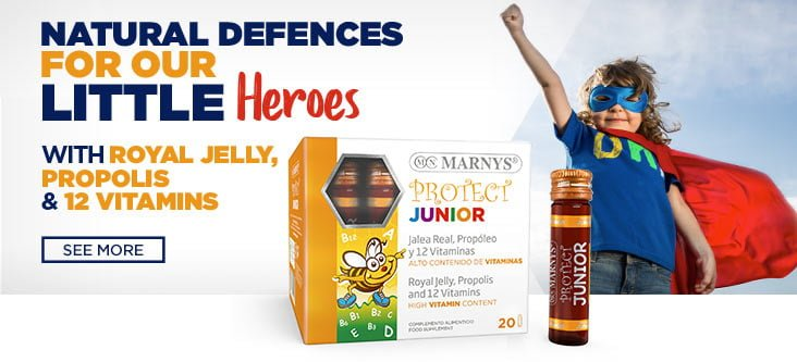 Natural defences for our little heroes