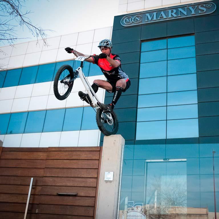 Raul Martínez, 12-facher spanischer Sieger Trial-Bike für MARNYS