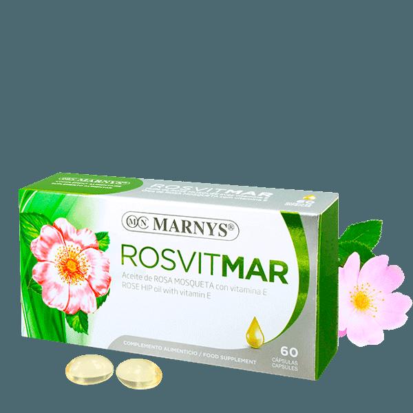 MN428 - Rosvitmar Aceite de Rosa Mosqueta cápsulas
