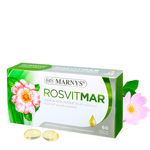 MN428 - Rosvitmar – Wildrosenöl 60 Kapseln