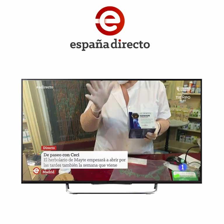 RTVE - ESPAÑA DIRECTO | El herbolario de Mayte empezará a abrir por las tardes también la semana que viene