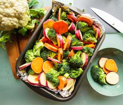 verduras vitamina a