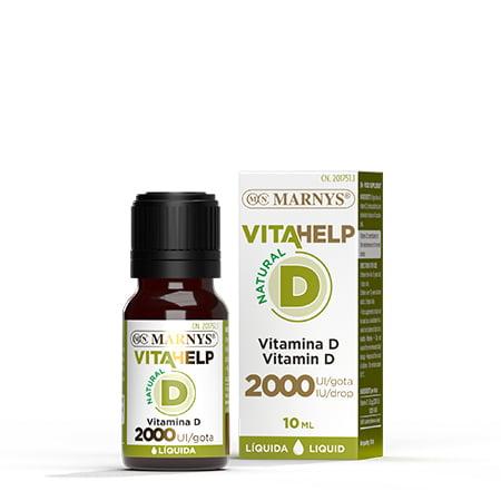 MN813 - Vitamin D Liquid 2000 IU VITAHELP Line