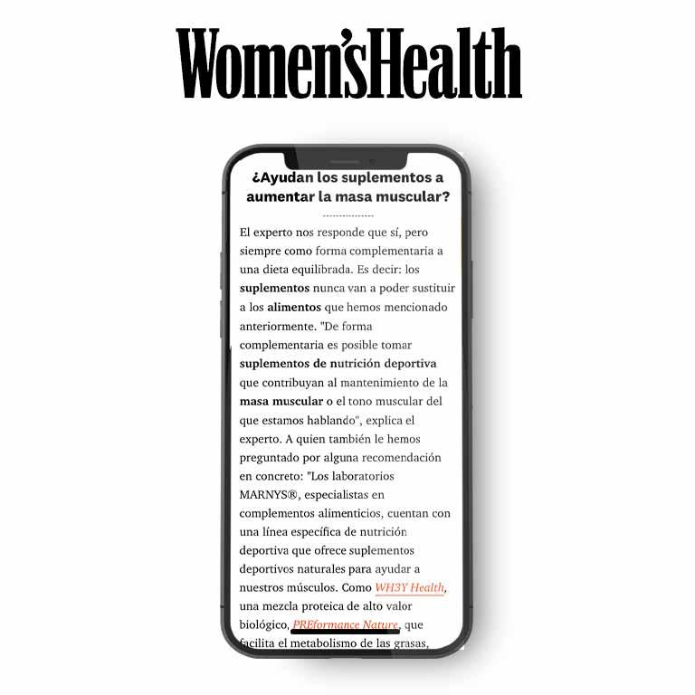 WOMEN'S HEALTH | ¿Quieres ganar masa muscular?